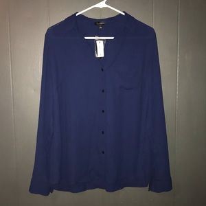 NWT The Limited button down blouse